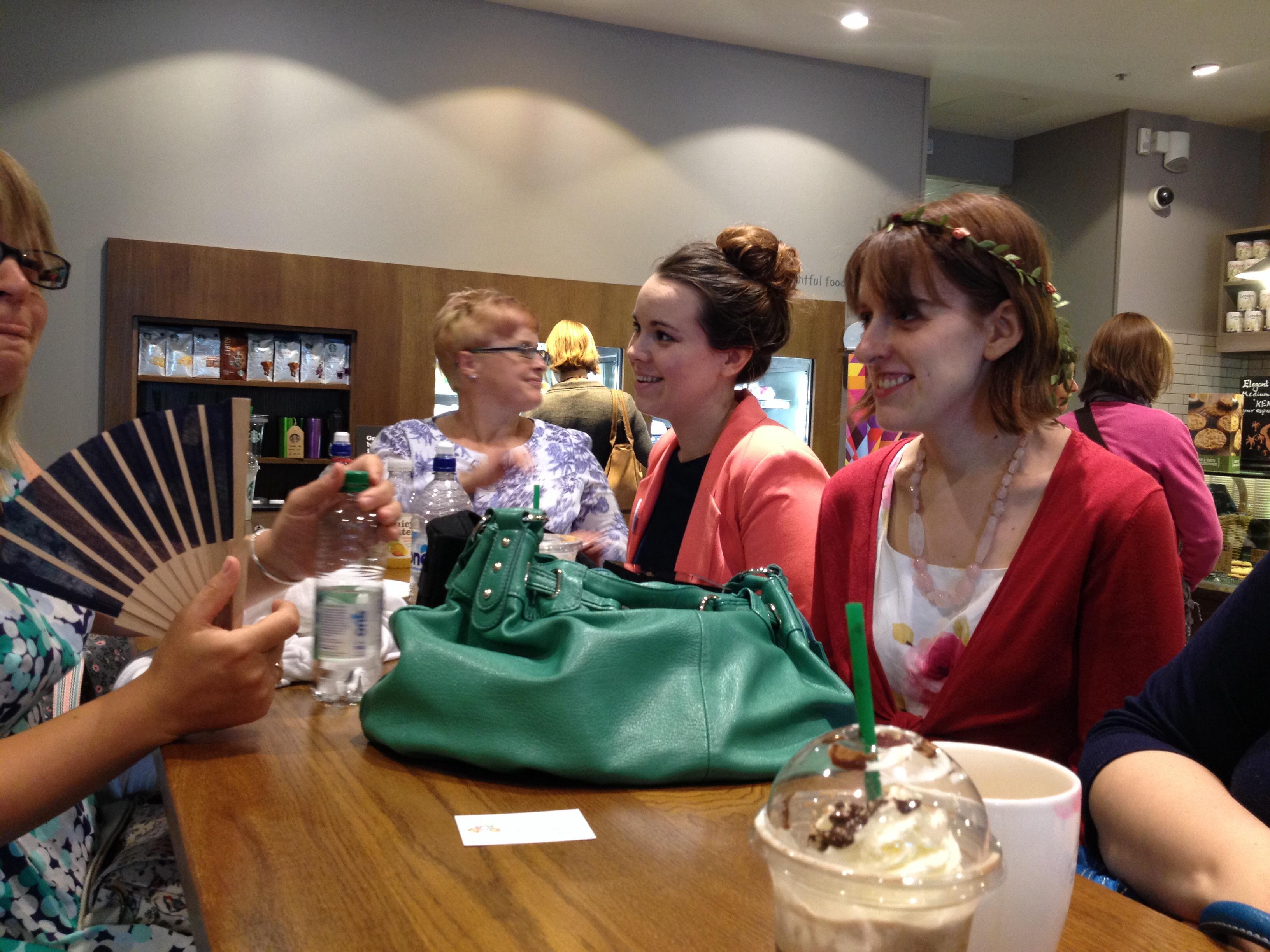 Starbucks Finsbury Square London BritMums Live! meet up 2014