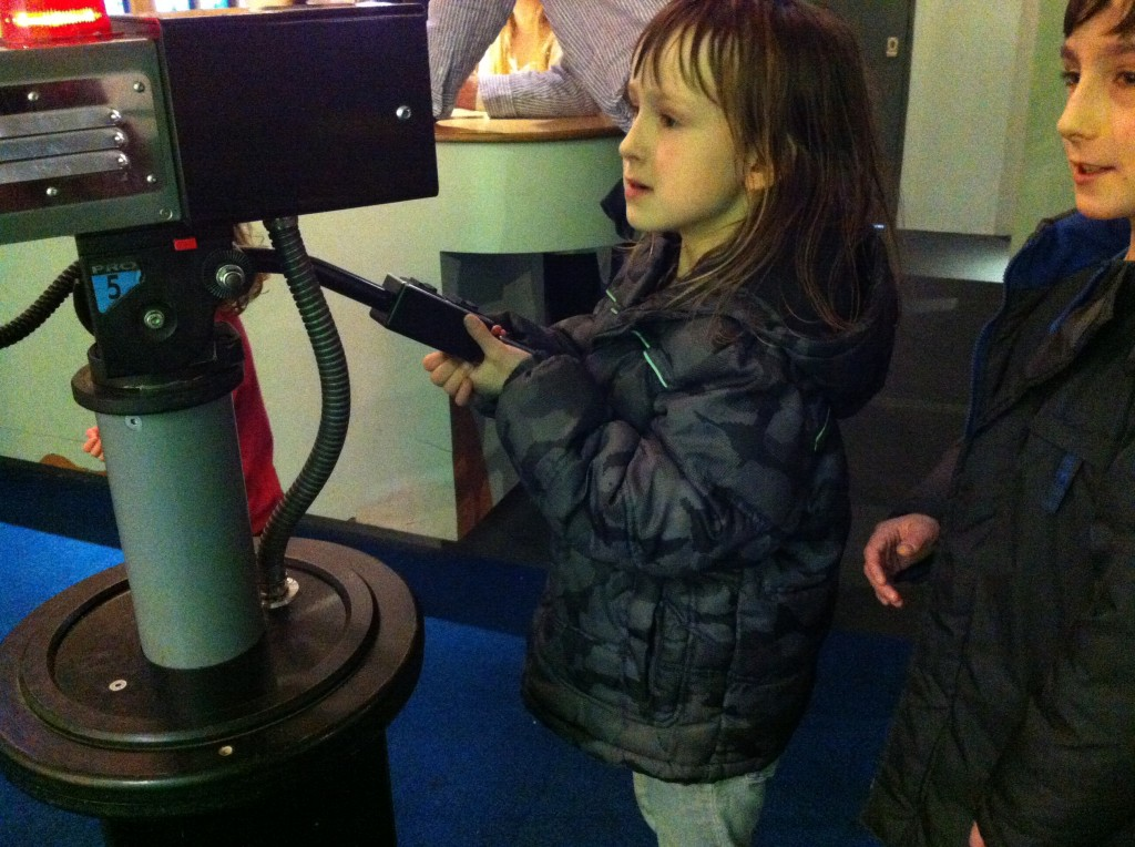 At Bristol science learning centre
