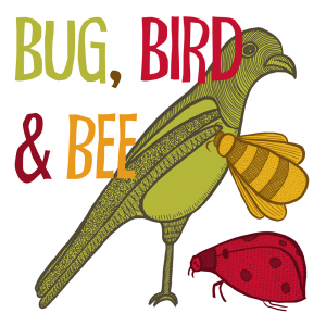 Bug, Bird And Bee Tasha Goddard Illustrations