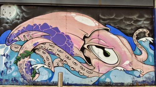 Street Art Bristol Centre Facade