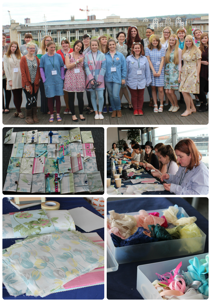 Crafty Hen Craft parties  With Laura Ashley