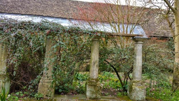 Corsham Court Lake and house