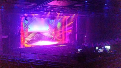 The Wyvern Theatre, Swindon stage