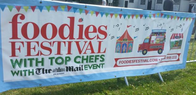Bristol Foodies Festival 2015 Clifton Downs