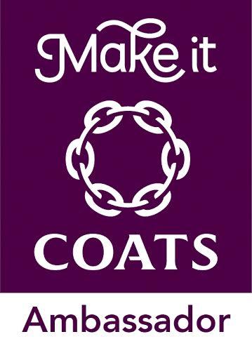 Make It Coats craft ambassador badge