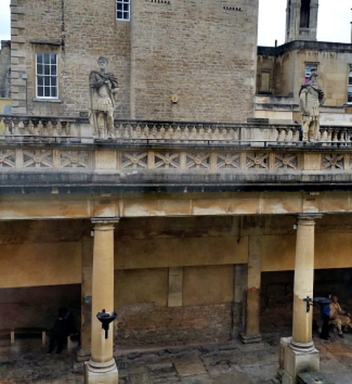 Roman Baths, Bath, Somerset, England, U.K.