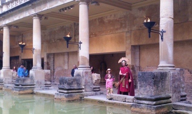 Roman Baths, Bath, Somerset, England
