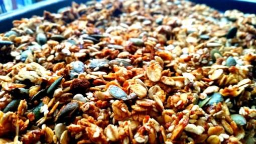 super seedy granola from Natural: Wholesome Recipes For Pure Nourishment