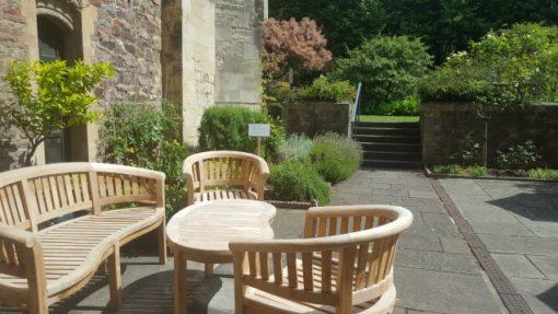 Bristol Cathedral gardens