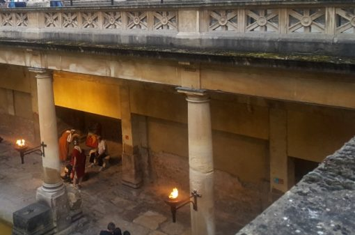 The Roman Baths Bath Somerset