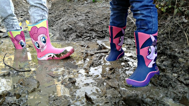Hasbro collection from Muck Boots features My Little Pony